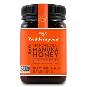 Wedderspoon Raw Manuka Honey Monofloral 120g