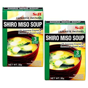 S&B Instant Soy Bean Soup White Miso 30g