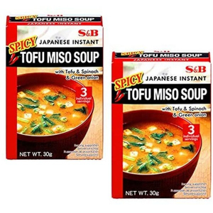S&B Instant Soy Bean Soup Spicy 30g