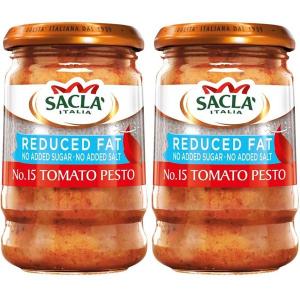 Sacla Pesto Tomato Reduced Fat 190g