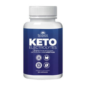 Sunshine Nutrition Keto Electrolytes 120s