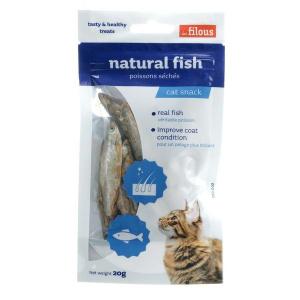 Les Filous Cat Treats Natural Fish 20g