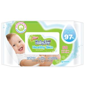 BabyJoy Healthy Skin Wet Wipes Regular 50s