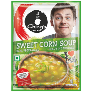 Chings Instant Soup Sweet Corn 55g