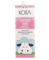 Koita Uht Milk Skimmed Lactose Free 1L