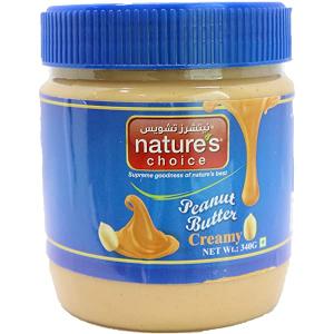 Nature's Choice Peanut Butter Crunchy 2x340g