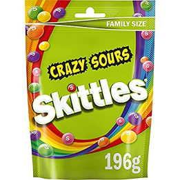 Skittles Candy Fruit Pouch 196g