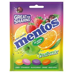 Mentos Candy Fruit 152g