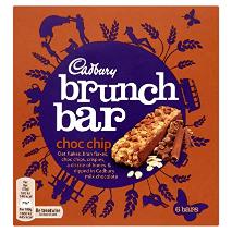 Cadbury Brunch Bar Chocolate Chip 192g