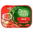 John West Sild In Tomato Sauce 110g