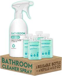 Dutybox Set Bathroom Cleaner + Reusable Bottle 2x50ml