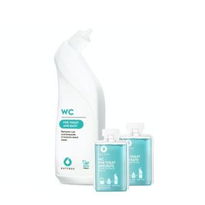 Dutybox Set Wc Cleaner + Reusable Bottle 2x50ml