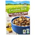 Cascadian Farm Organic Granola Dark Chocolate Almond 375g