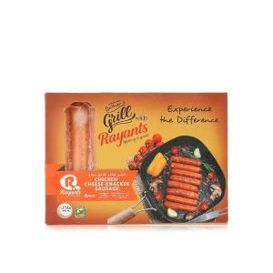 Rayants Chicken Sausage Cheese Knacker 180g