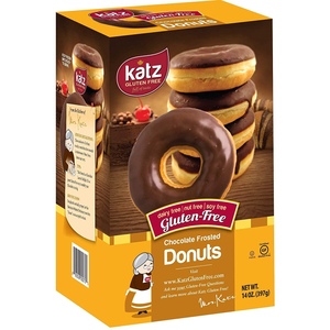 Katz Donut Chocolate Frosted 397g