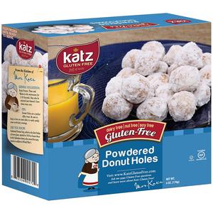 Katz Powdered Donut Holes 170g