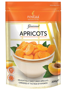 Rostaa Golden Apricots 200g