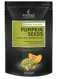 Rostaa Pumpkin Seeds Without Shell Salted 200g