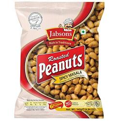 Jabsons Roasted Peanuts Spicy Masala 140g