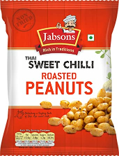 Jabsons Roasted Peanuts Thai Sweet Chilli 140g