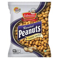 Jabsons Roasted Peanuts 6x186g