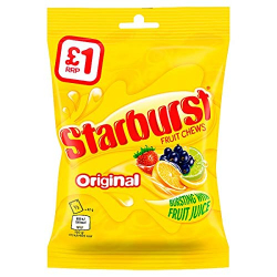 Starburst Fruit Chews Candy 141g