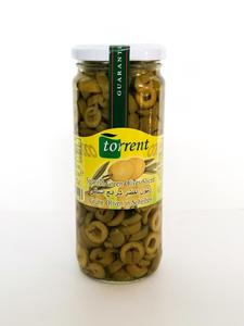 Torrent Green Olives Sliced 440g