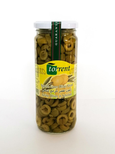 Torrent Green Olives Sliced 935g