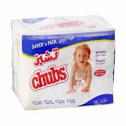 Chubs Sensitive Wipes Flow 2x80pcs