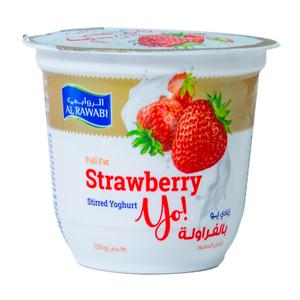Al Rawabi Yoghurt Strawberry Cheese 150g