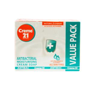 Creme 21 Antibacterial Moisturising Cream Soap 125g