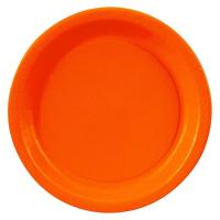 Orange Plate9 1pc