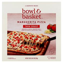 Bowl & Basket Thin Crust Margherita Pizza 539g