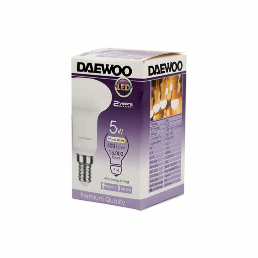 Daewoo Led Bulb 5W E14 Dl1405D 1pc