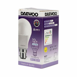 Daewoo Led Bulb 12W B22 Dl2712B 1pc