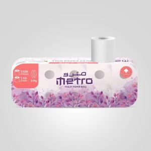 Metro Toilet Rolls 120g