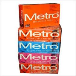 Metro Facial Tissue 210x190 150s