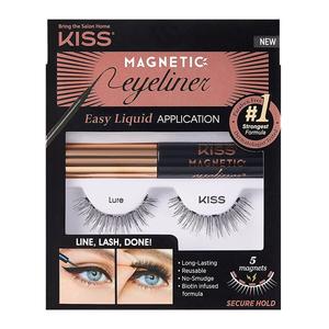 Kiss Magnetic Eyeliner Kit Kmek01C 1pc
