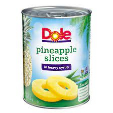 Dole Pineapple Slices In Heavy Syrup 567g