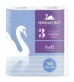 Harmony Toilet Paper 4 Rolls 3Ply 160s