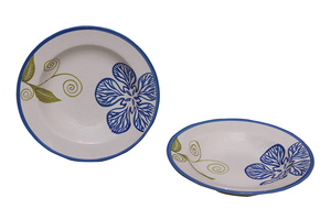 4Ever Soup Plate Sapphire 9 Inch 1pc