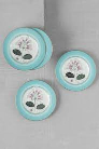 4Ever Side Plate Gulf Teal 8 Inch 1pc