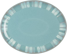 4Ever Oval Platter Teal 12x10 Inch 1pc