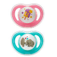 Pigeon Minilight Pacifier M Size Girl 2s