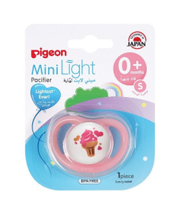 Pigeon Minilight Pacifier M Size Girl 1pc