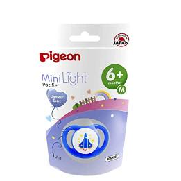 Pigeon Minilight Pacifier M Size Unisex 1pc