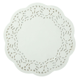 Co-Op Doyley Paper Round 6.5 Inch 1pc