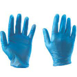 Co-Op Vinyl Gloves Powdered Blue Small 1pc