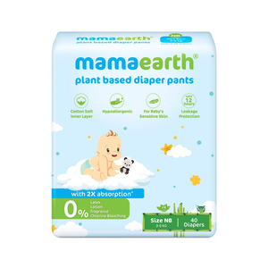 Mamaearth Plant Based Diaper Pants 3-5Kg 1pack