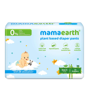 Mamaearth Plant Based Diaper Pant S 4-6Kg 1pack